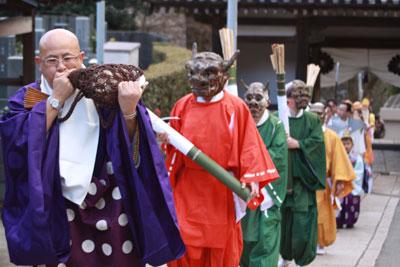 宝積寺の節分祭