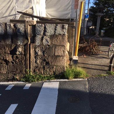 まちかど遺産/芥川宿水門跡